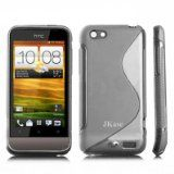 JKase Premium Quality HTC One V / T320e HTC Primo Streamline TPU Case Cover - Retail Packaging-Gray - JKase Premium Quality HTC One V / T320e HTC Primo Streamline TPU Case Cover - Retail Packaging-Gray    Material : High Quality Thermoplastic Polyure