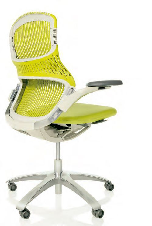 knoll generation chair - the first office chair that lets you sit