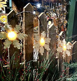 Check out the deal on Felt Snowflake String Lights -  Set of 10 at Battery Operated Candles