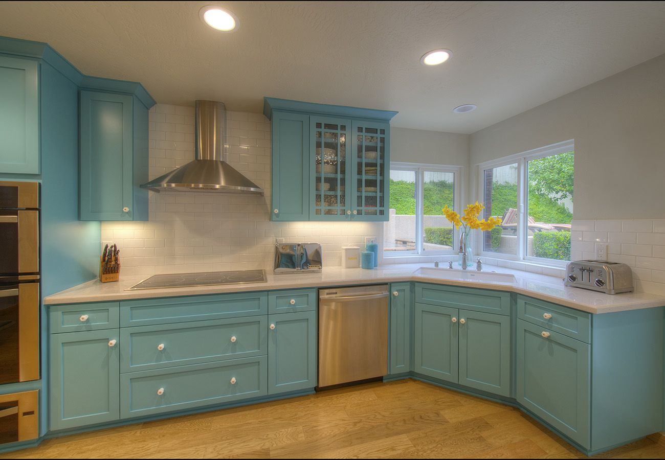 Pin On Stained Kitchen Cabinets Colors