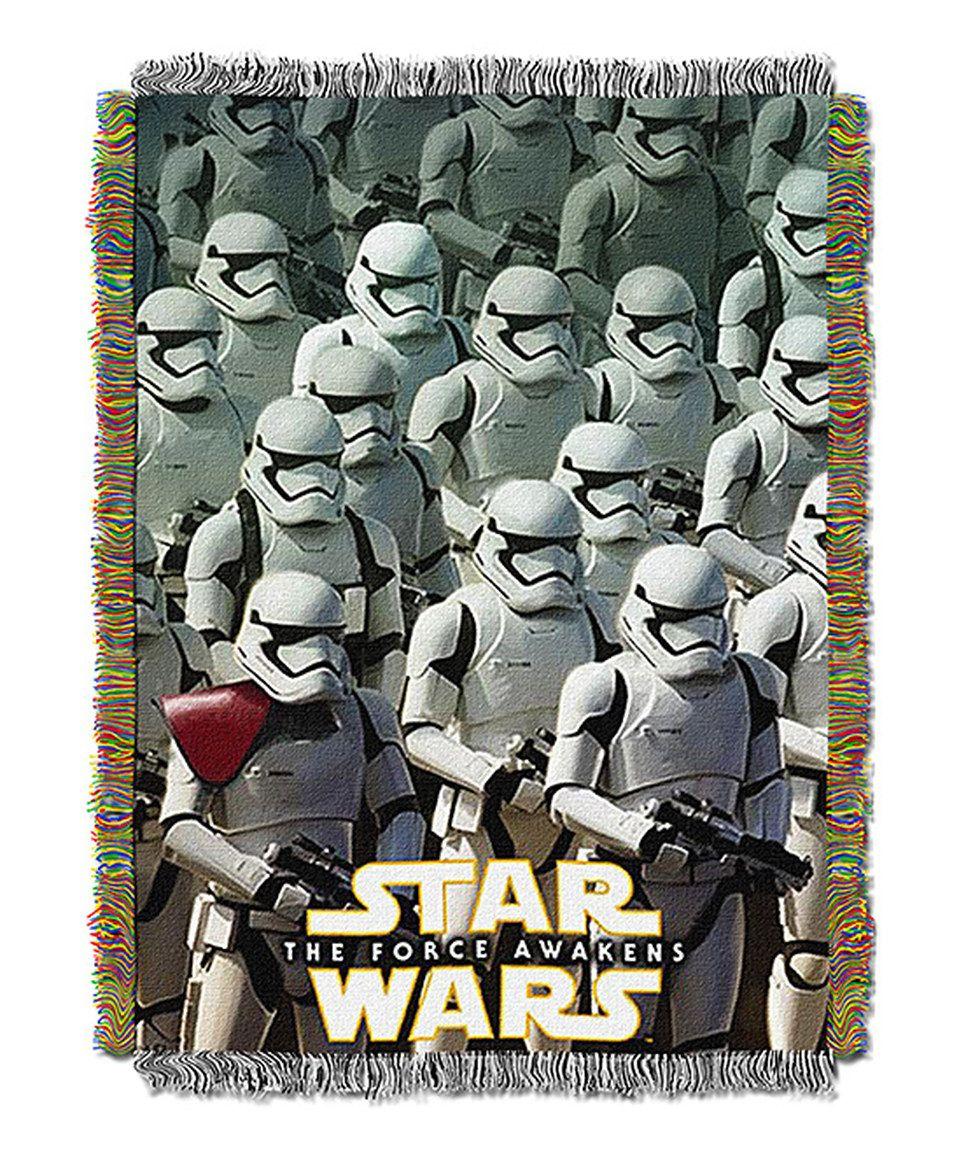 Look at this #zulilyfind! Star Wars Imperial Troops Tapestry Throw by Star Wars #zulilyfinds