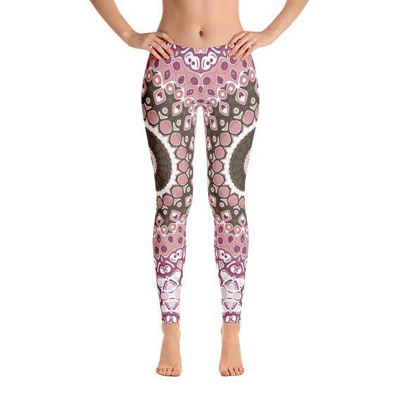 b5c8f1f16f908 Mandala Leggings for Women Printed Workout Leggings Custom ...