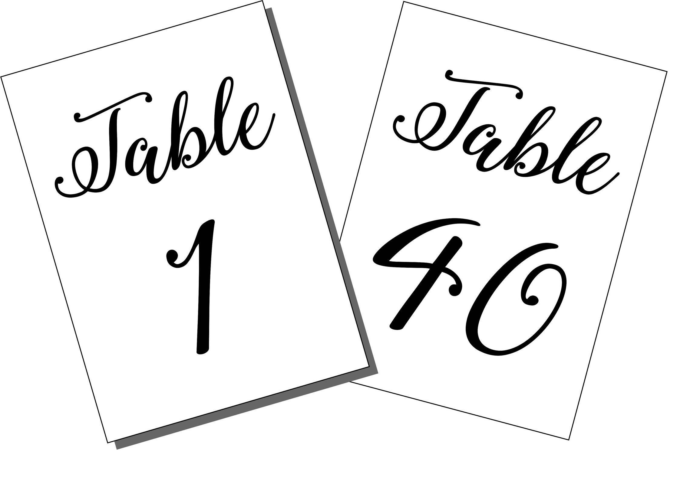 Table Number Printable Template 1 40 5 X 7 Size Printable Table Numbers 1 40 File Diy Downloadable Pdf File Wedding Table Numbers Printable Table Numbers Event Table Numbers Table Numbers