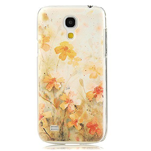 Amazon.com: MOLLYCOOCLE Fashion Style Painted PC Phone Back Cover with Flower Pattern for Samsung Galaxy S4 Mini I9190: Cell Phones & Accessories
