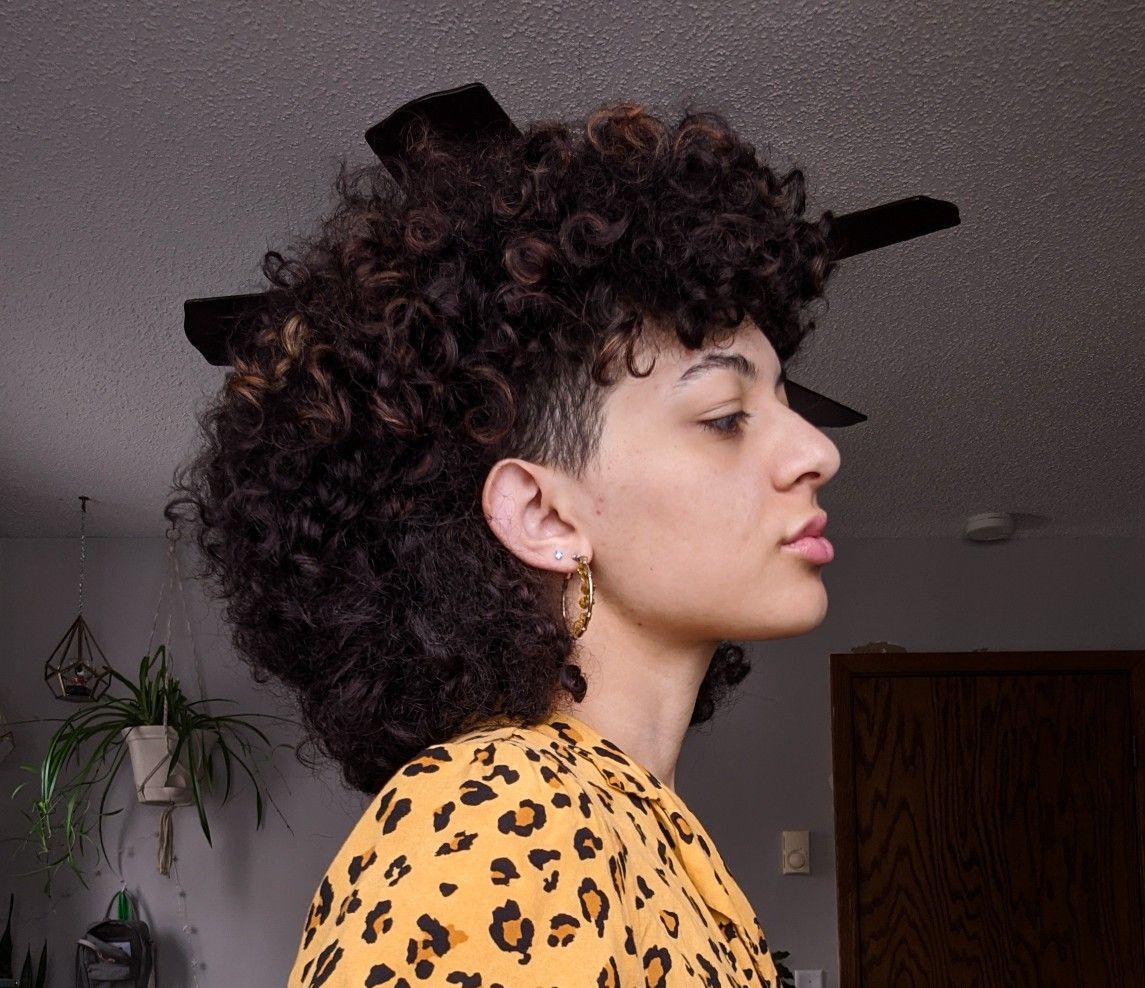 Curly mullet inspo -   15 hair Inspo rocks ideas