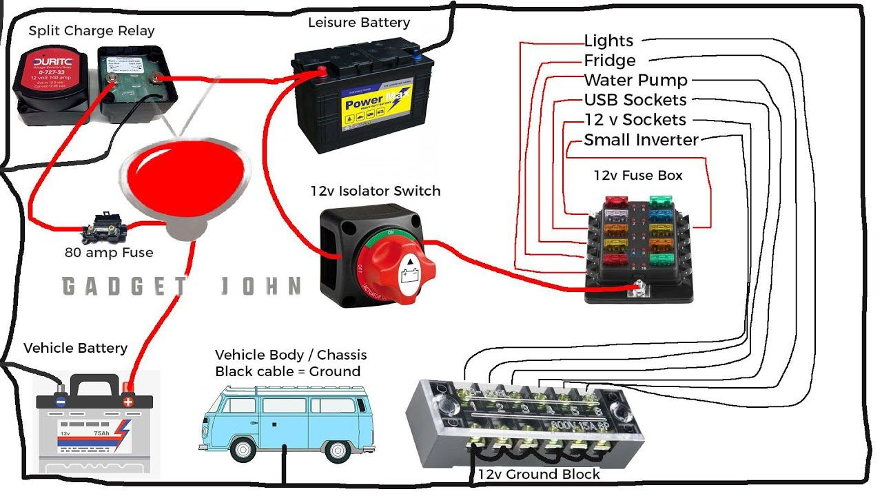 Wiring Diagram 12v Isolator Switch