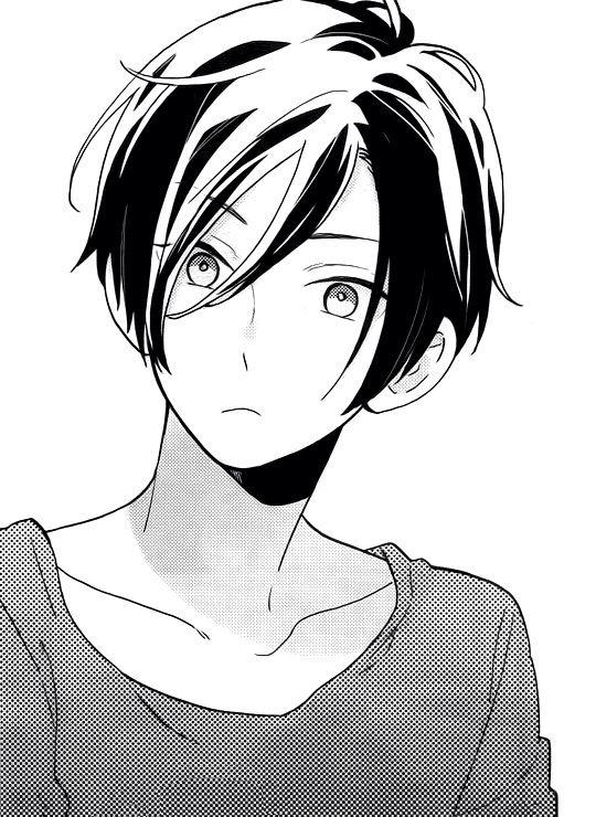Monochrome Anime Boy Anime Boy Sketch Shoujo Manga Manga Cute