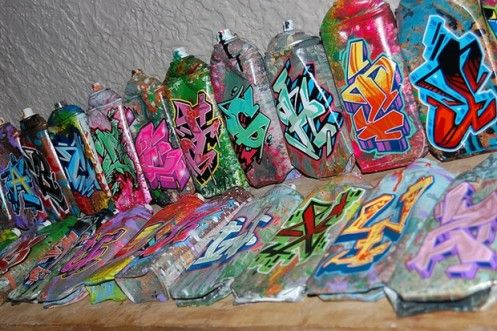 Graffiti Old Spray Can Drawing Spray Paint Art Graffiti Gallery Spraycans Limited Edition