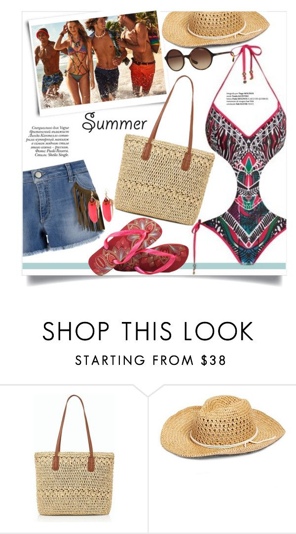 """Print and Colour"" by gifra ❤ liked on Polyvore featuring KOCCA, Paolo, Talbots, Hinge and Vogue"