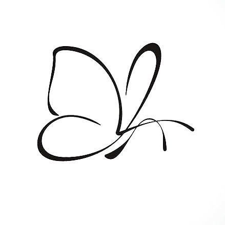 butterfly tattoo cute small drawings simple tattoos. Black Bedroom Furniture Sets. Home Design Ideas