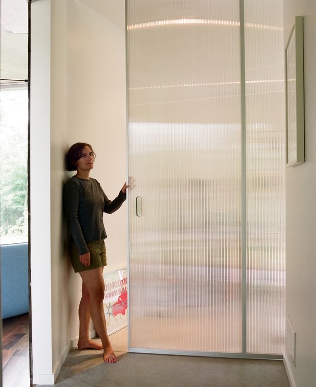 Bedrooms 12   Translucent Pocket Door For Bedroom Closets   Sliding Doors