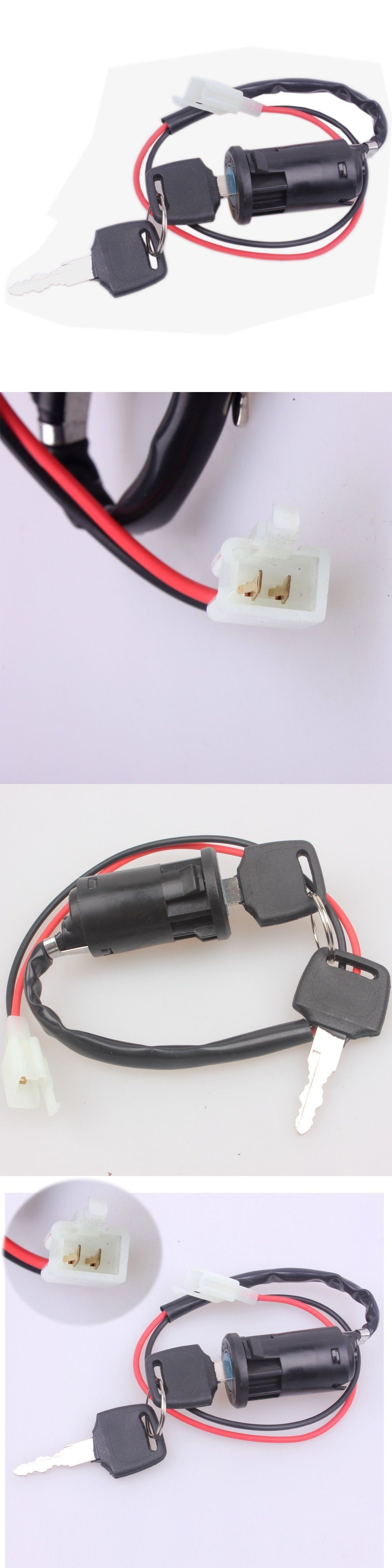 MYMotor Ignition Key Switch Lock 2 Wire Electrical Scooter 2 ...