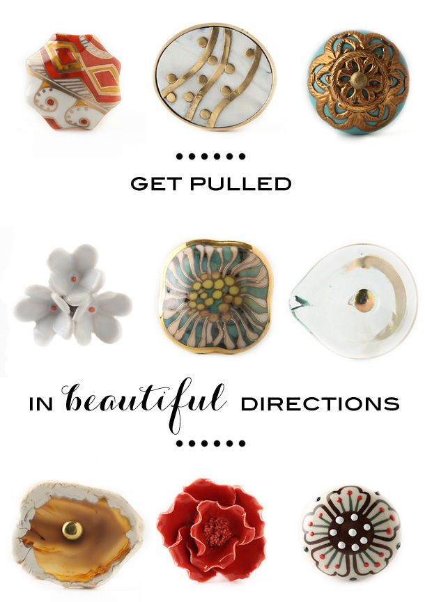 I Want All Of These #anthropologie Drawer Pulls! Http://www.