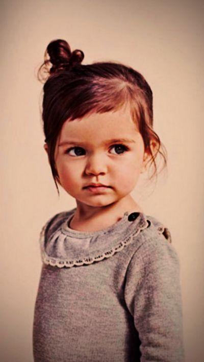 cute little girl   frisur kinder mädchen, frisur kleinkind