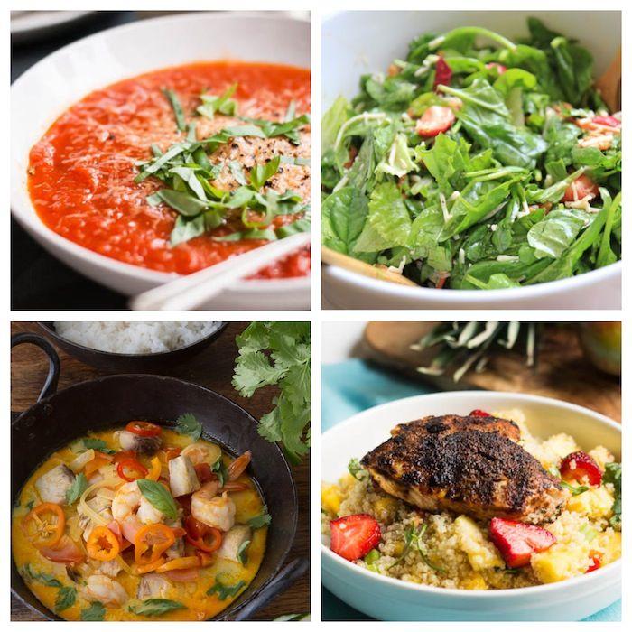Week 2 Meal Plan: No Gluten, No Dairy, No Sugar - | Weekly meal ...