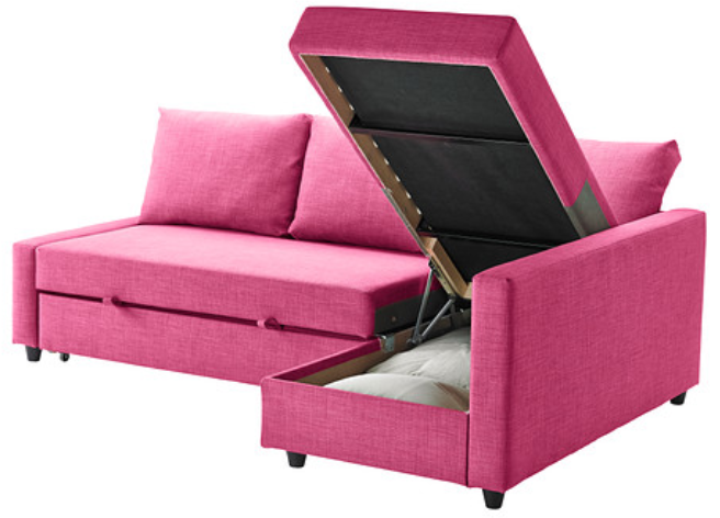 Favorites From Ikea S 2014 Catalog Corner Sofa Bed With Storage