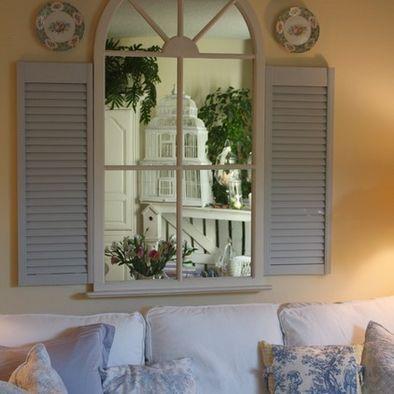 Kitchen Fake Window Dark Narrow Hall Design Pictures Remodel
