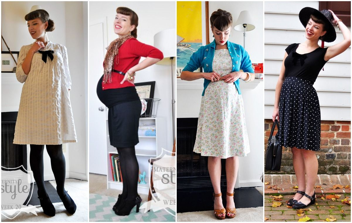 54327c8accd51 If you need a little inspiration for vintage maternity style hot foot it  over to Elegant