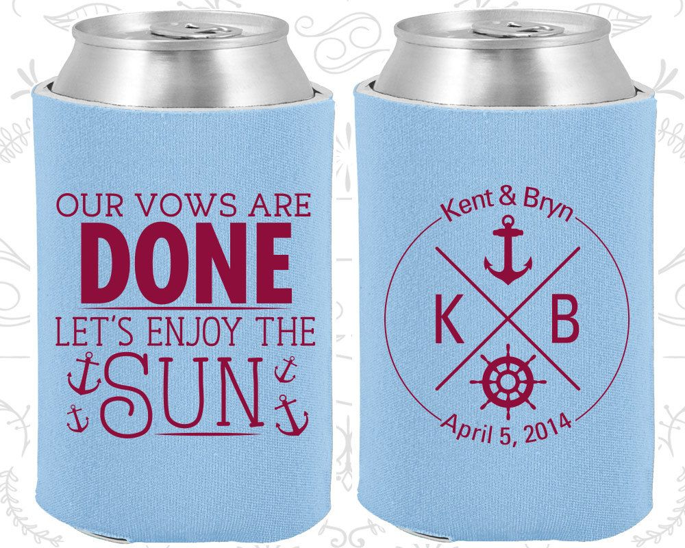 Vintage wedding decorations ideas november 2018 Our Vows are Done Lets enjoy the Sun Wedding Gift Nautical