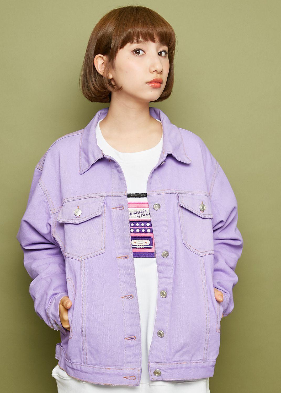 Lavender Jean Jacket Lavender Jeans Fashion Clothes [ 1500 x 1071 Pixel ]