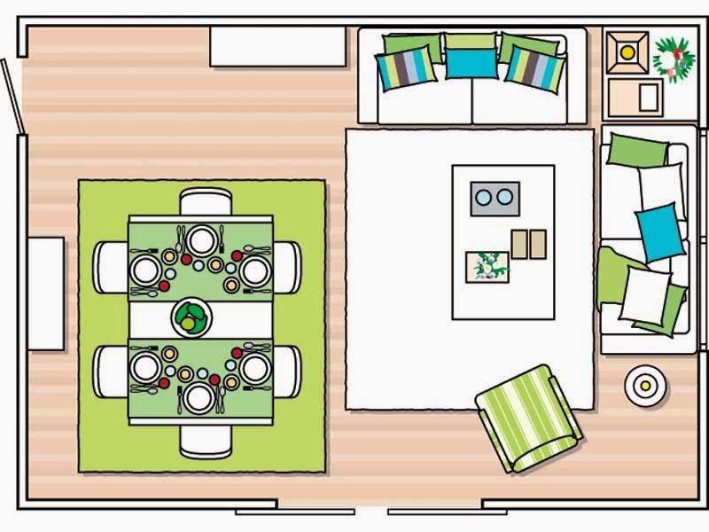 Consejos: como distribuir el mobiliario de tu salón ~ Patri-Blanco http://www.decoracionpatriblanco.es/2015/01/distribuir-mobiliario.html