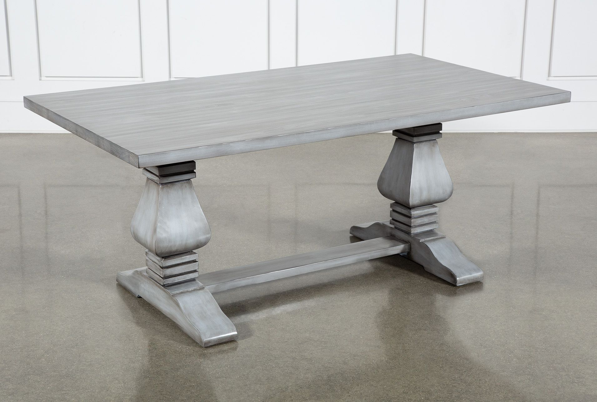 Toscana Cement 72 Inch Rectangle Dining Table Dining Table