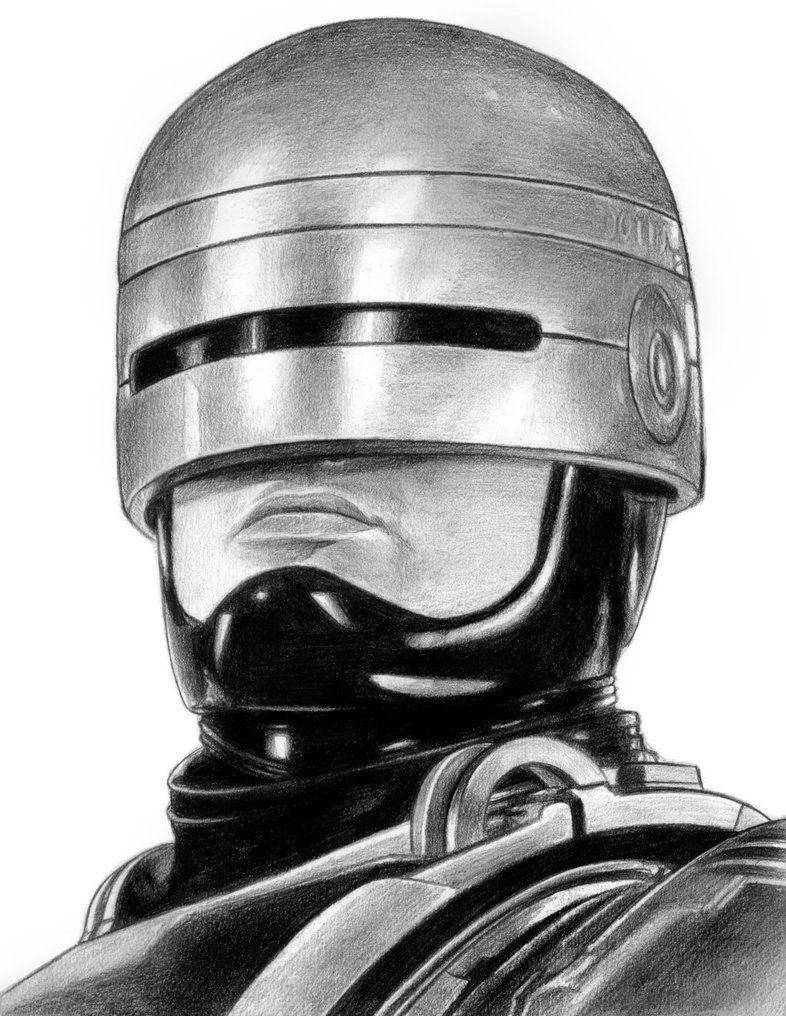 Robocop Iain Reed Fotos Preto E Branco Ideias Para Desenho