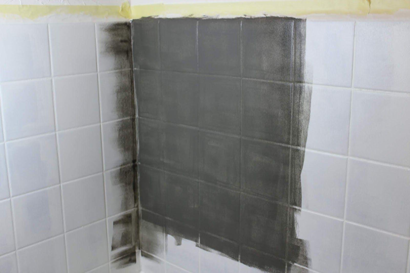 Diy Badezimmer Streichen Und Renovieren Mit Fliesenfarbe Badezimmer Streichen Badezimmer Komplett Und Renovieren
