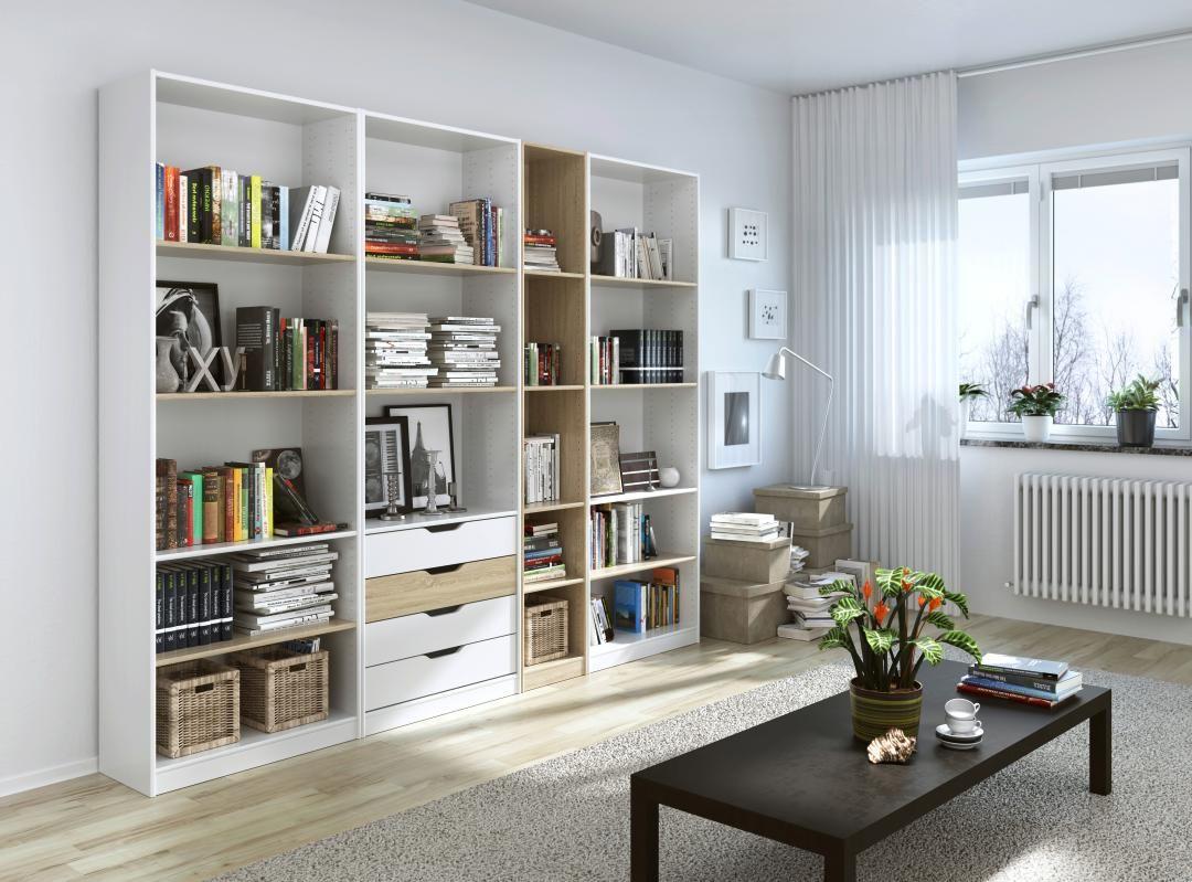 Aménagement modulaire ESPACE pouvant aussi bien être installé dans une chambre que dans le salon ...