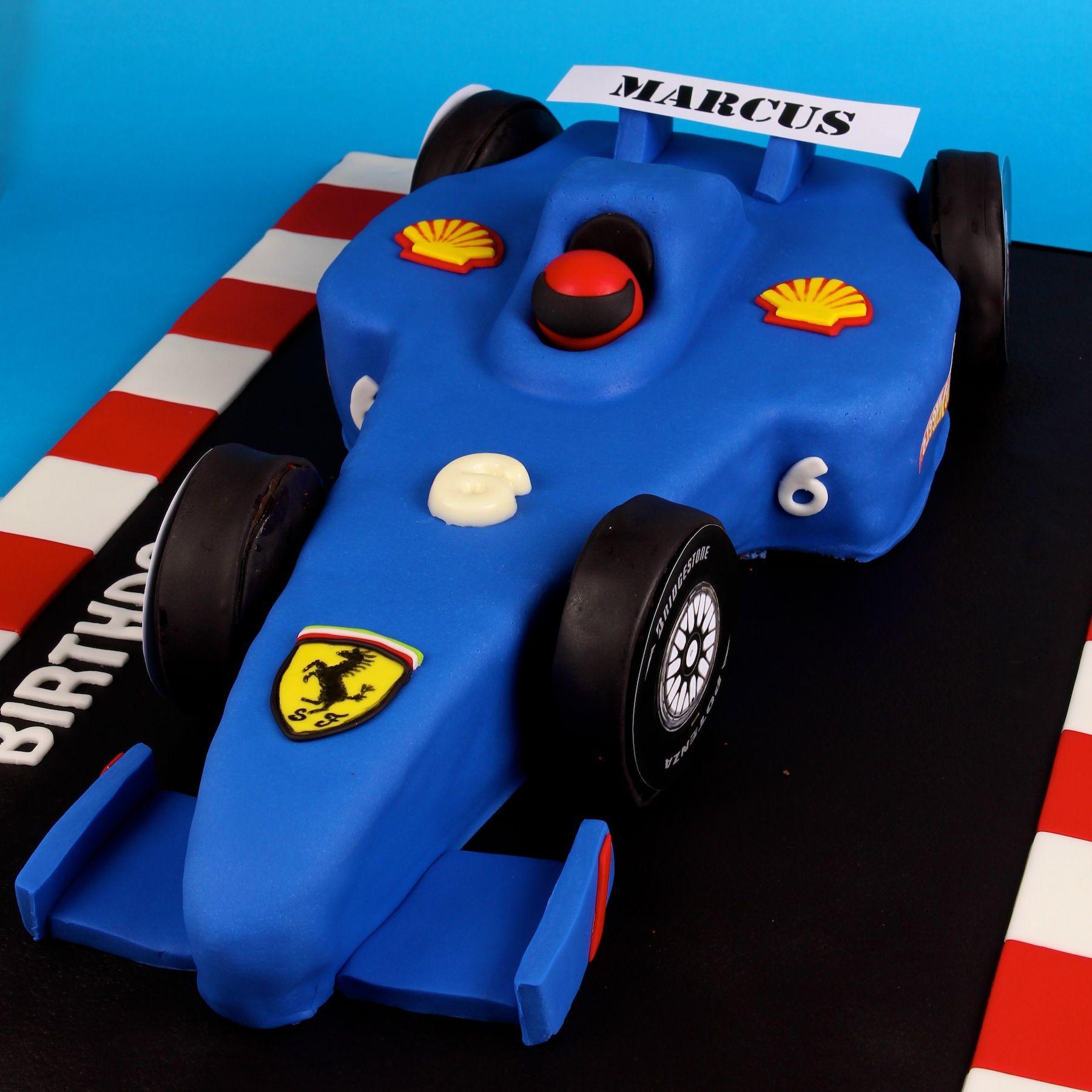 Race car cake formula 1 cake formula one cake cakes for F1 car cake template