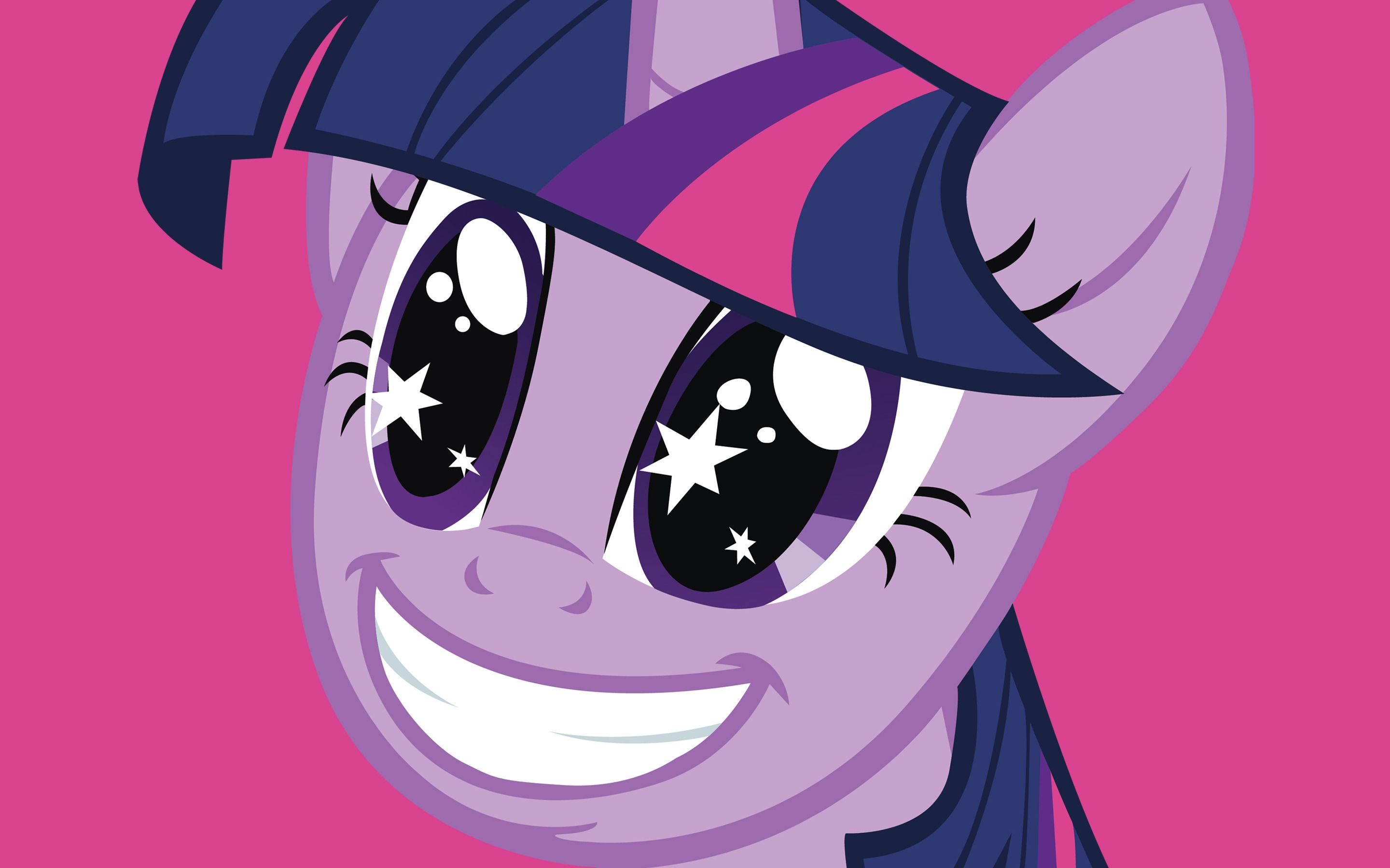 MLP Twilight Sparkle Excited Wallpaper