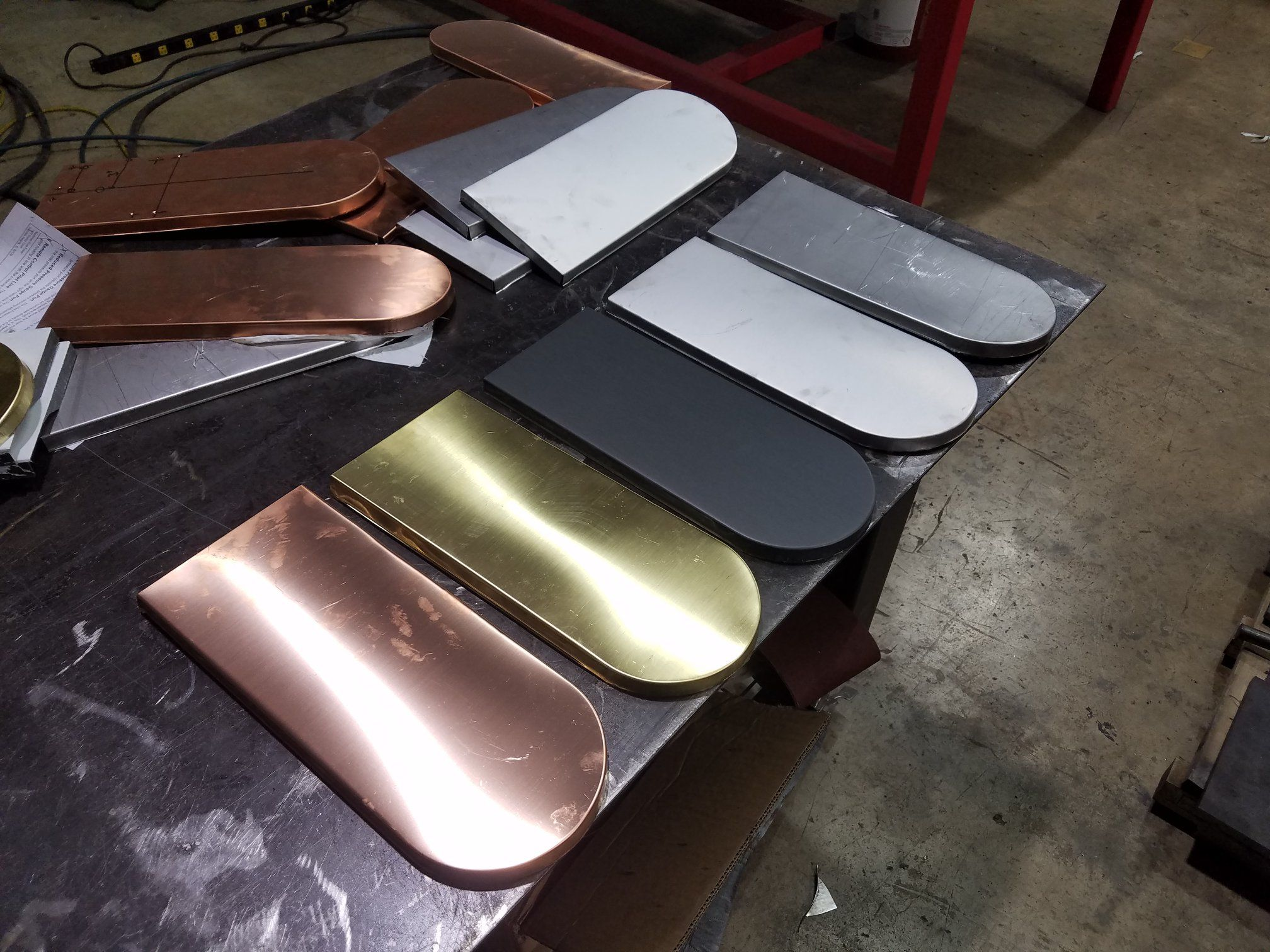 Beaver Tail Shingles For Roof And Wall Come In Copper Zinc Stainless Steel Brass Steel Aluminum And Other Metals Allo Zinc Roof Beaver Tails Geodesic Dome