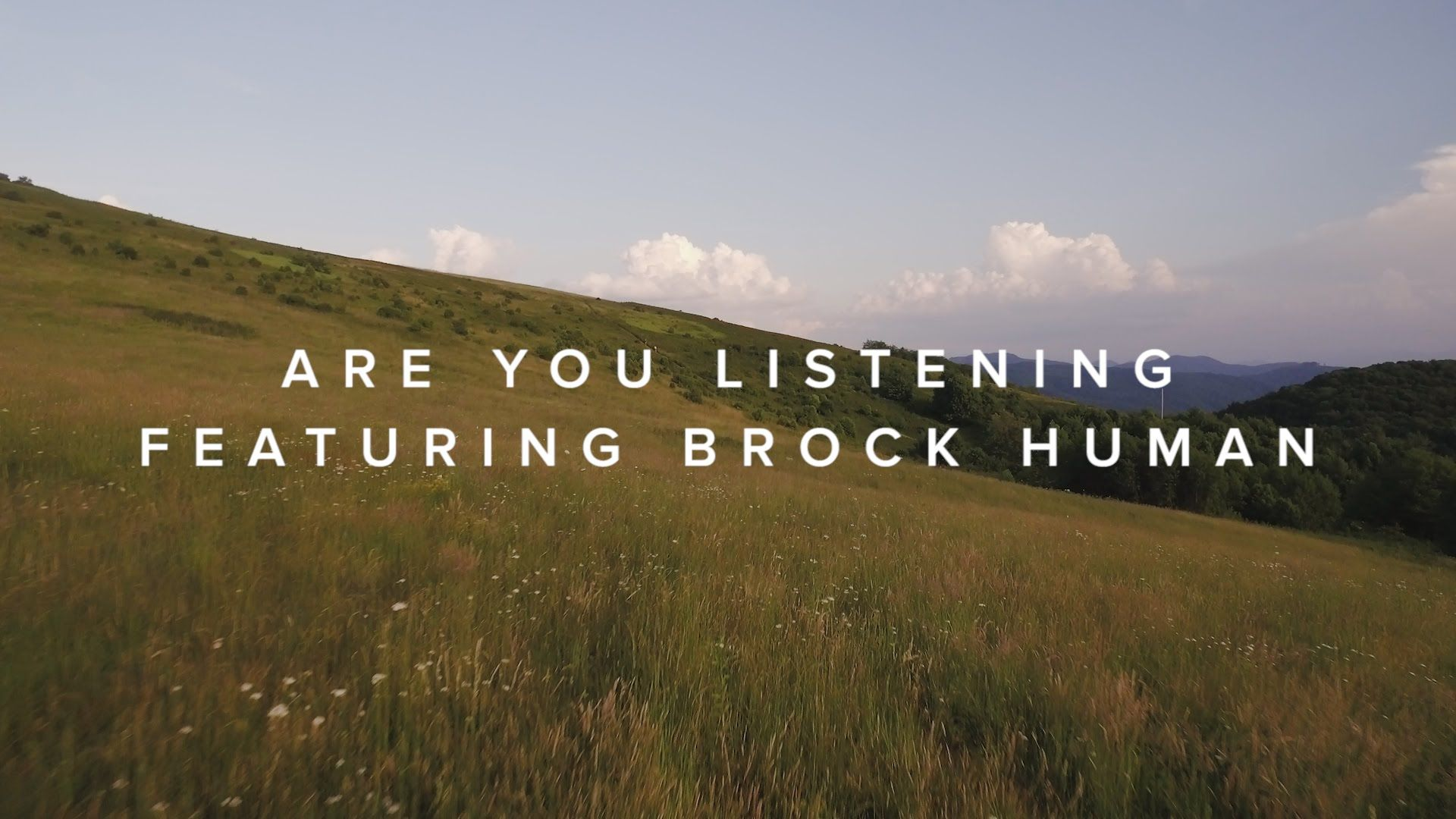 Are You Listening (feat. Brock Human) –Official Lyric Video