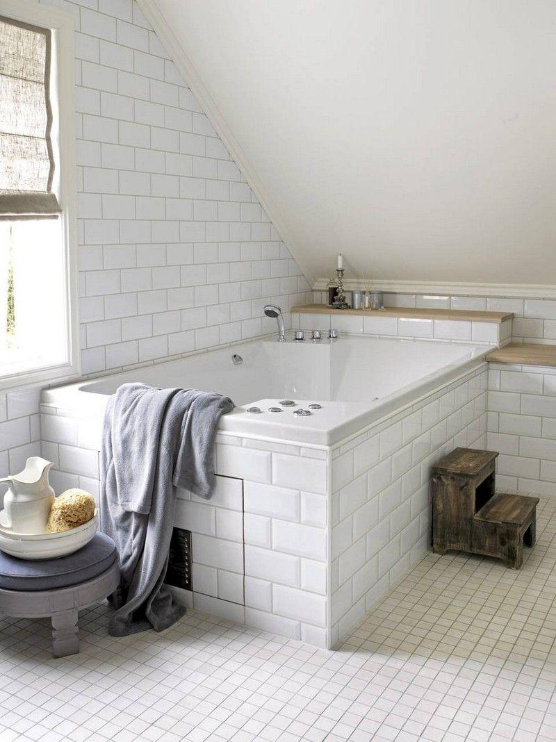 carrelage m tro blanc dans la cuisine et la salle de bains salle de bain pinterest. Black Bedroom Furniture Sets. Home Design Ideas