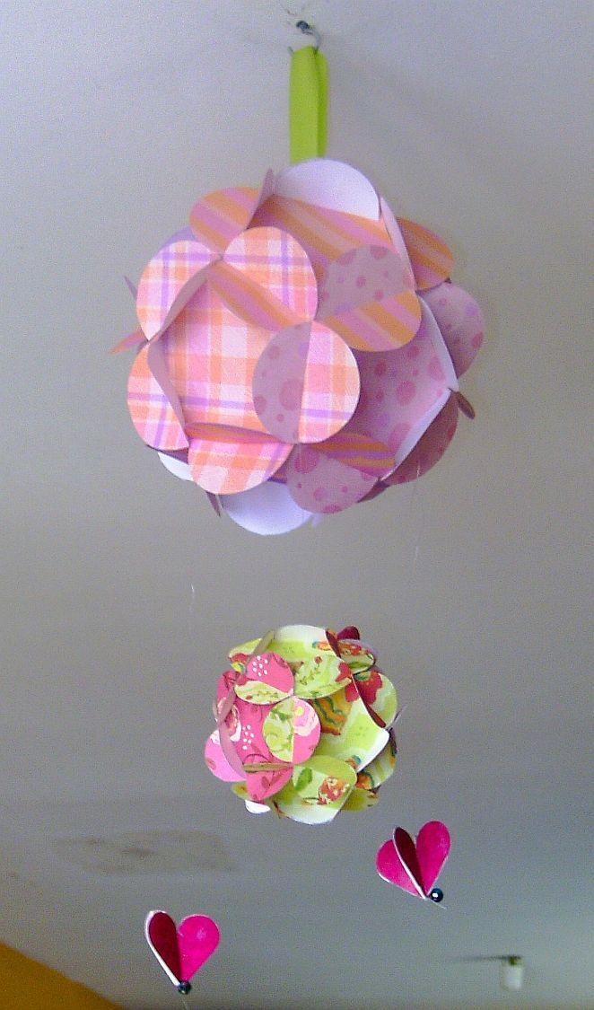 Easy to make paper flower ball no glue needed paper pinterest easy to make paper flower ball no glue needed mightylinksfo