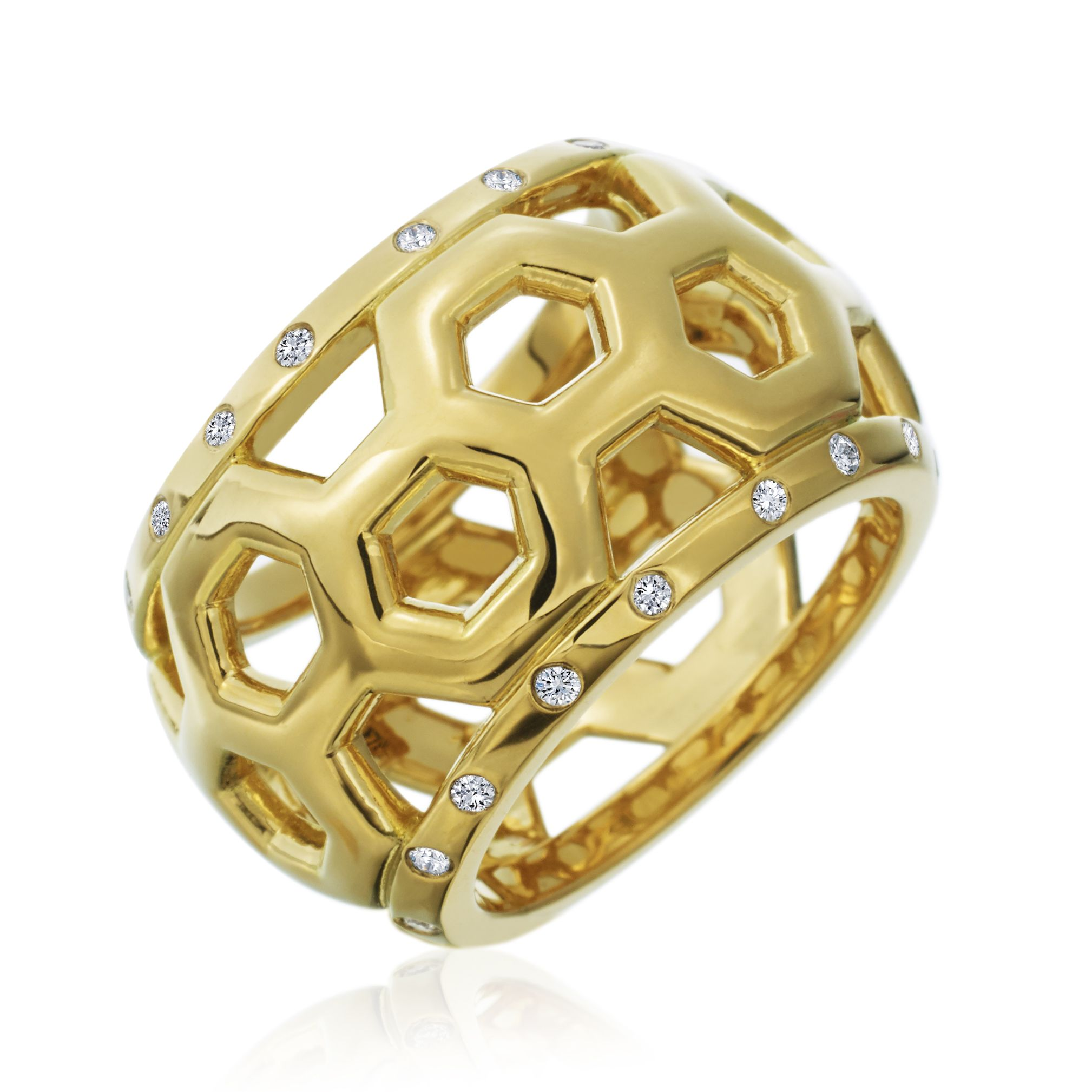 18kt Yellow Gold & Diamond \