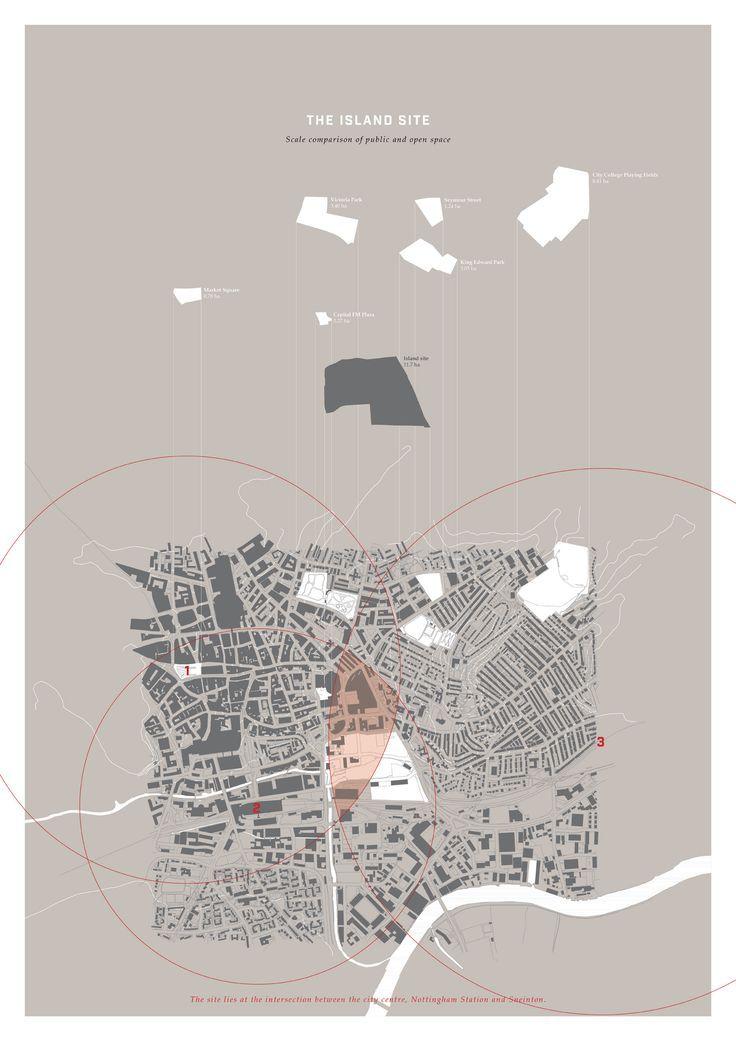 The Island Site Masterplan - #Island #masterplan #Site #architektonischepräsentation