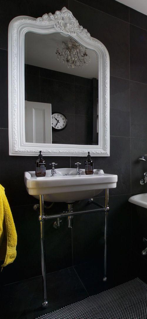 bathroom crop 2.jpg | Interior design london, Monochrome ...