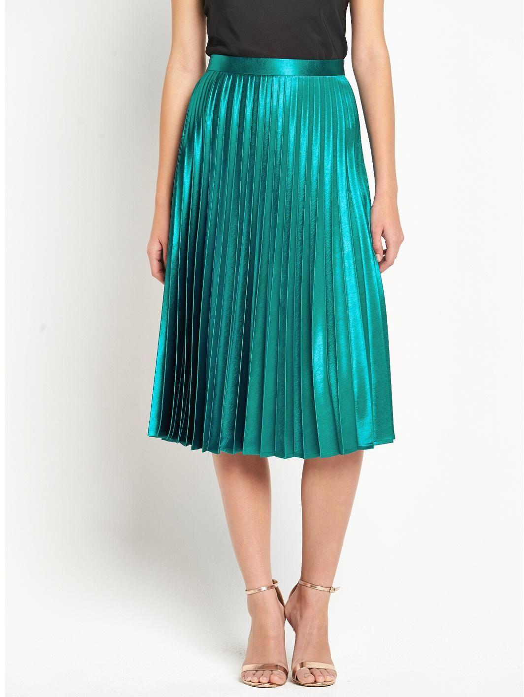 Sunray Pleated Midi Skirt, http://www.very.co.uk/definitions-sunray-pleated-midi-skirt/1458050171.prd