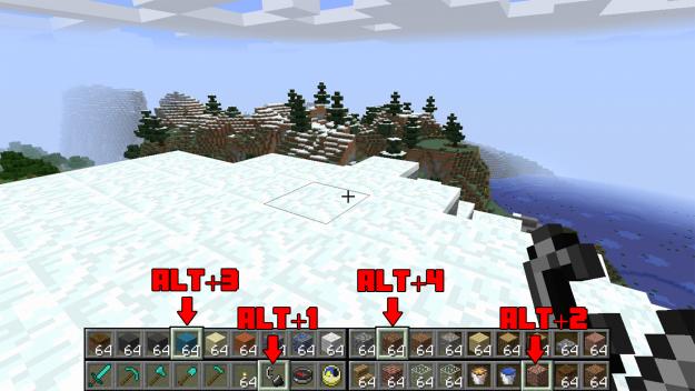 Multi Hotbar Minecraft Mods Minecraft Mods Multi Minecraft