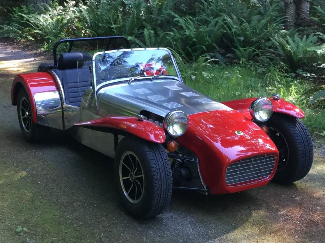 Lotus Twin Cam Powered LHD 1969 Lotus Seven Caterham