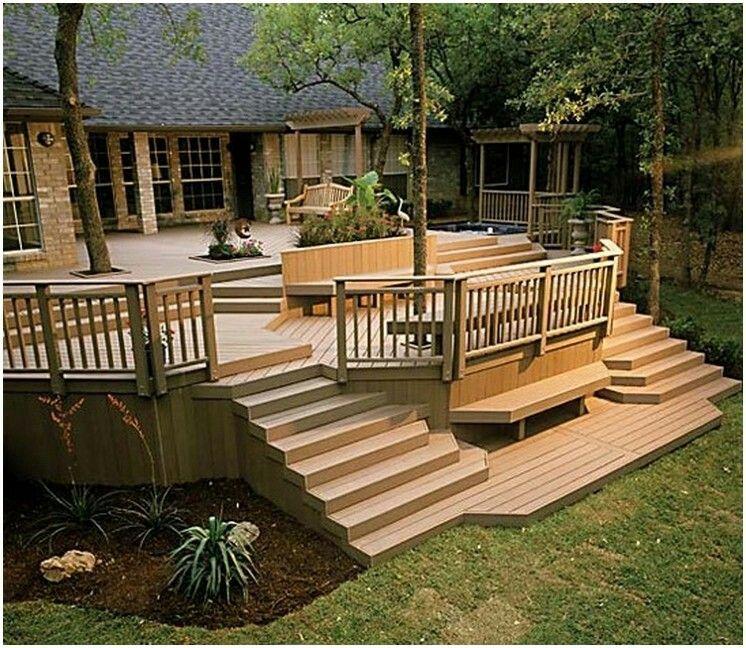 Amazing Back Deck Deck Railing Design Wooden Deck Designs Patio Design