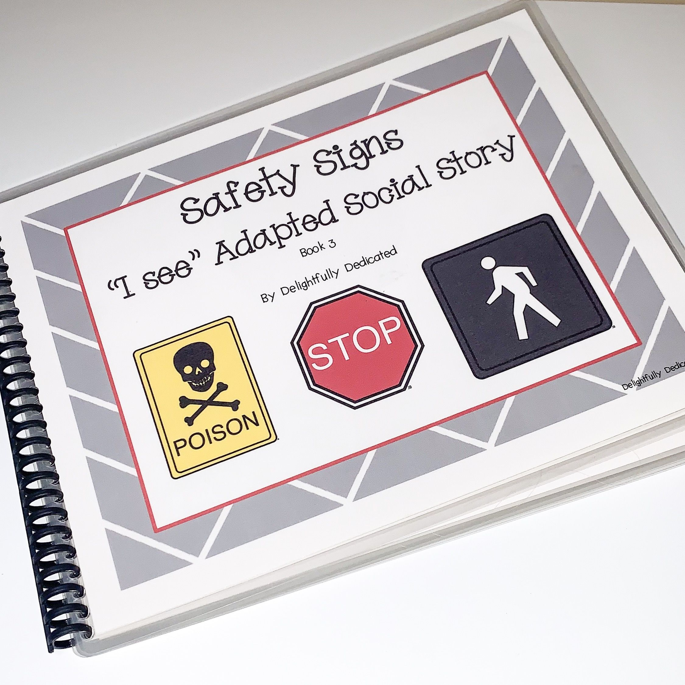 Delightful Life Skills Safety Signs 1 Unit For Special