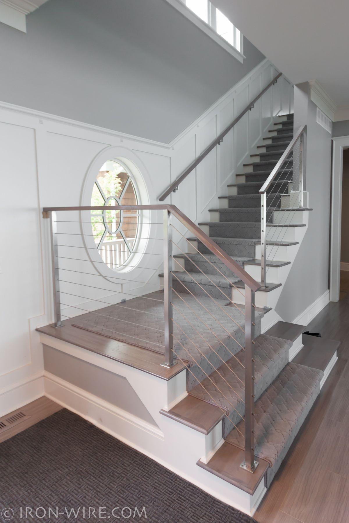 Modern Railings, Custom Stairs Chicago, Modern Staircase Design Chicago, Custom  Stair Design,