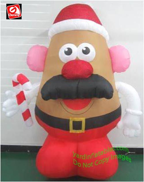 Gemmy Airblown Inflatable Giant Mixed Media Mr. Potato ...