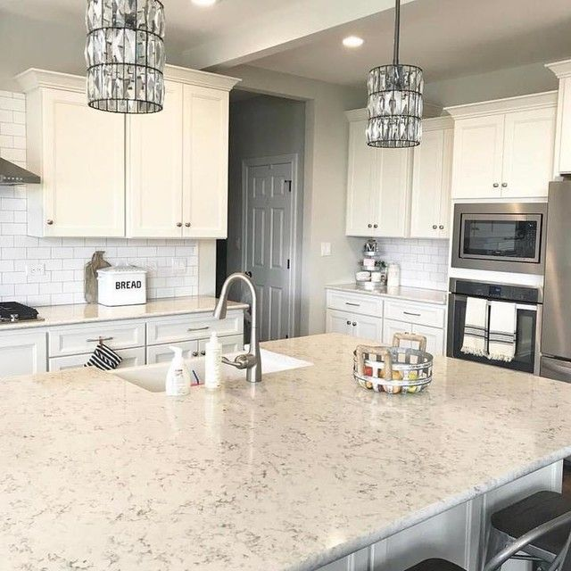 Light Pine Kitchen Cabinets: Adeline Crystal Pendant Hood & Bronze Cord