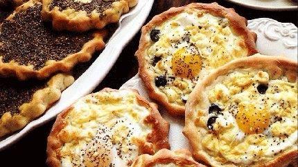 مناقيش زعتر ومناقيش بيض بالجبن Arabic Food Recipes Recipes From Heaven