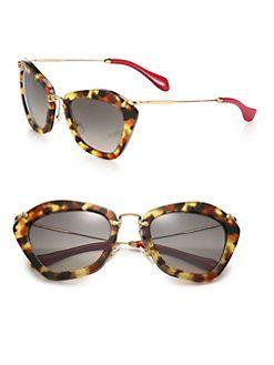 b50f396815a Miu Miu - 55MM Modified Cat s-Eye Sunglasses