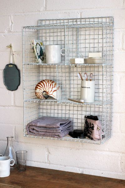 inspired by retro locker room shelves this shelving unit is the perfect storage solution for the