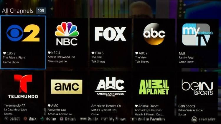 Outdoor Channel Live Stream Sling Tv Tv Services Playstation Vue